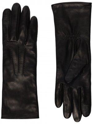 Перчатки Grace Agnelle. Цвет: черный