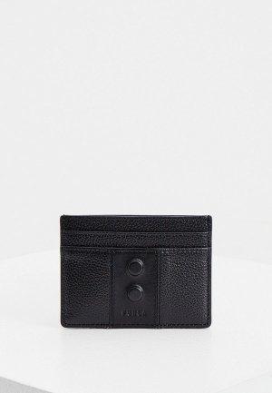 Кредитница Furla MAN TRAVEL S CARD CASE. Цвет: черный