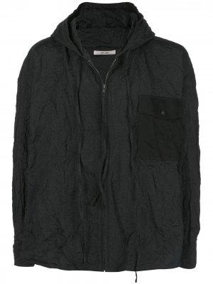 Легкая куртка с капюшоном Damir Doma. Цвет: черный