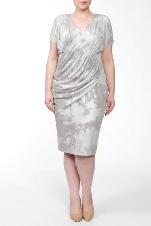 Платье Зар-Стиль. Цвет: бежевый