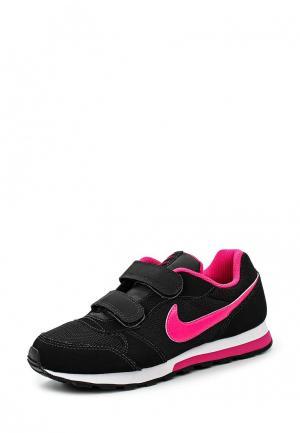 Кроссовки Nike Girls MD Runner 2 (PS) Pre-School Shoe. Цвет: черный