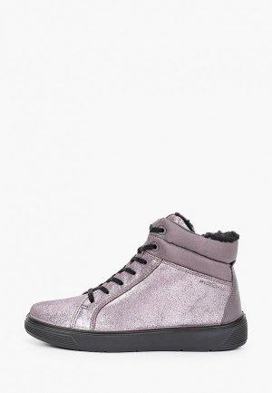 Ботинки Ecco STREET TRAY K. Цвет: серебряный