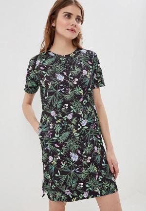 Платье Helly Hansen W MALLA DRESS. Цвет: черный