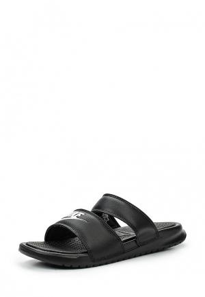 Сланцы Nike Benassi Duo Ultra Slide Womens Sandal. Цвет: черный