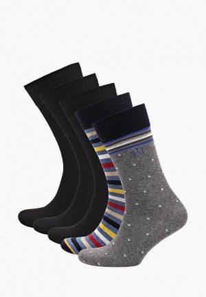 Носки 5 пар Feltimo. Цвет: разноцветный