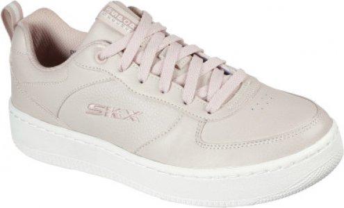Кеды женские Sport Court 92, размер 39 Skechers. Цвет: розовый