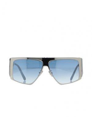 Солнечные очки PHILIPP PLEIN. Цвет: серебристый