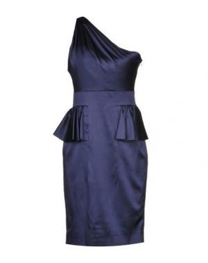 Короткое платье JASMINE DI MILO. Цвет: темно-синий