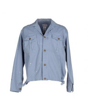 Куртка GARBSTORE. Цвет: пастельно-синий
