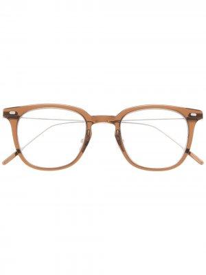 Солнцезащитные очки Booster BRC3 в квадратной оправе Gentle Monster. Цвет: коричневый