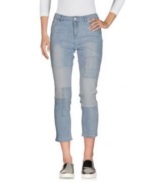 Джинсовые брюки-капри VERO MODA. Цвет: синий