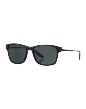 Солнечные очки BARTON PERREIRA. Цвет: черный