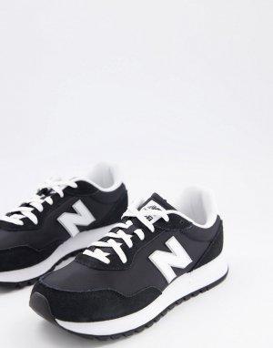 Черные кроссовки 527-Черный цвет New Balance