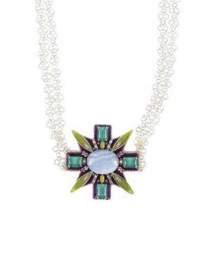 Ожерелье ERICKSON BEAMON. Цвет: темно-фиолетовый
