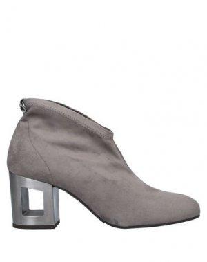 Ботинки PEDRO MIRALLES. Цвет: серый