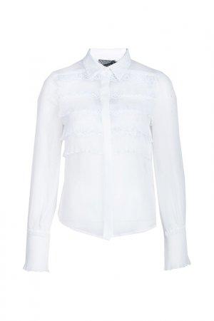 Блуза Alter Ego. Цвет: белый