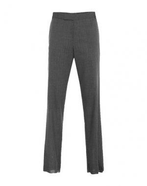 Повседневные брюки DUNHILL. Цвет: свинцово-серый
