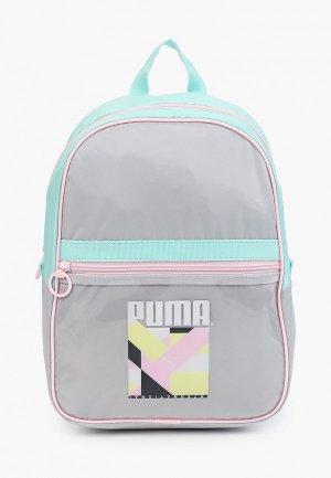 Рюкзак PUMA Prime Street Backpack. Цвет: серый