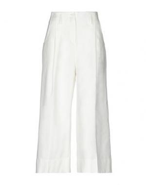 Повседневные брюки ALPHA STUDIO. Цвет: слоновая кость