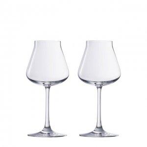 Набор из двух бокалов для вина Chateau Baccarat. Цвет: прозрачный