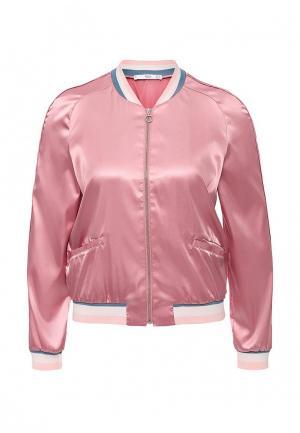 Куртка Mango - FRUITA. Цвет: розовый