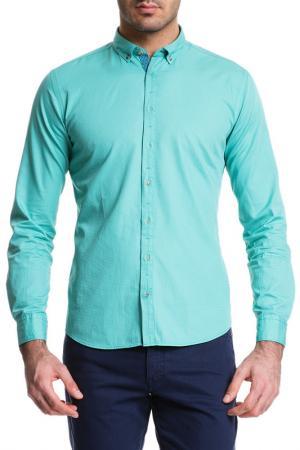 Рубашка Cacharel. Цвет: vr054 зеленый, клетка