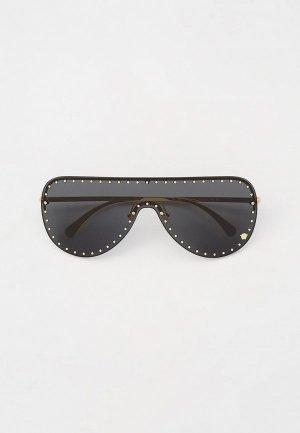 Очки солнцезащитные Versace VE2230B 100287. Цвет: золотой