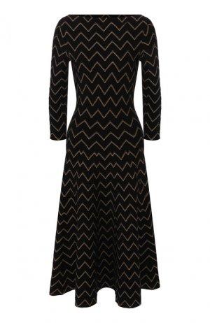 Платье Alaia. Цвет: золотой