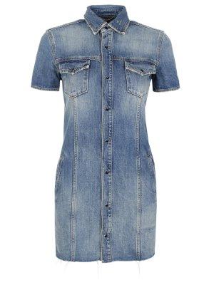 Платье джинсовое SAINT LAURENT