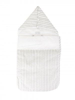 Спальный мешок в полоску Tartine Et Chocolat. Цвет: белый