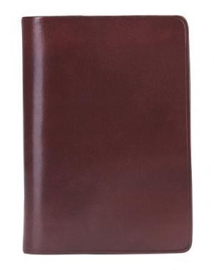 Чехол для документов IL BUSSETTO. Цвет: красно-коричневый
