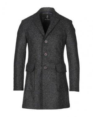 Пальто ERIC HATTON. Цвет: свинцово-серый