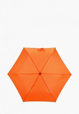 Зонт складной Doppler. Цвет: оранжевый