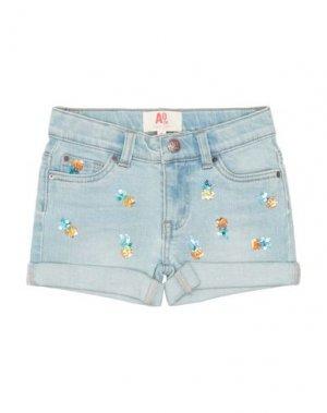 Джинсовые шорты AMERICAN OUTFITTERS. Цвет: синий