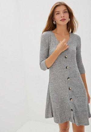 Платье Colins Colin's. Цвет: серый