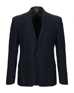 Пиджак ETRO. Цвет: темно-синий