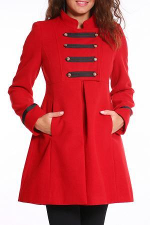 Пальто Collezione di Ines. Цвет: красный