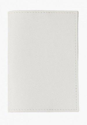 Обложка для паспорта Kokosina. Цвет: белый