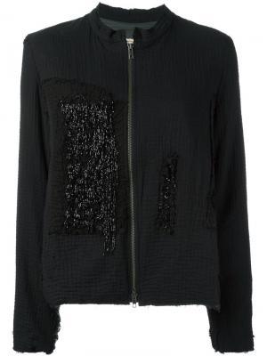 Куртка New Classic By Walid. Цвет: чёрный