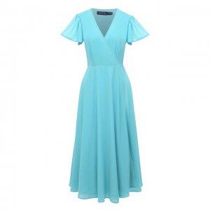 Платье Polo Ralph Lauren. Цвет: зелёный