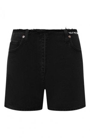 Джинсовые шорты Valentino. Цвет: черный