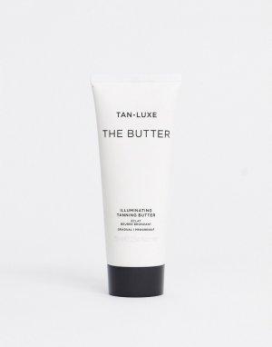 Масло-автозагар постепенного действия  Butter Illuminating 75 мл-Бесцветный Tan Luxe