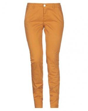 Повседневные брюки CAMOUFLAGE AR AND J.. Цвет: охра