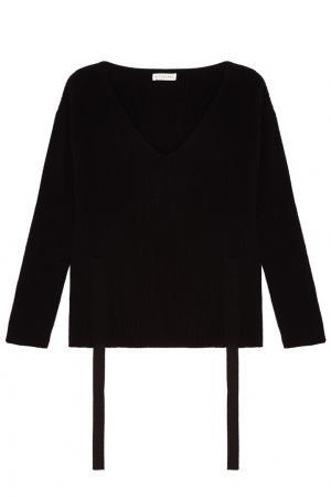 Черный пуловер из кашемира Altuzarra. Цвет: черный