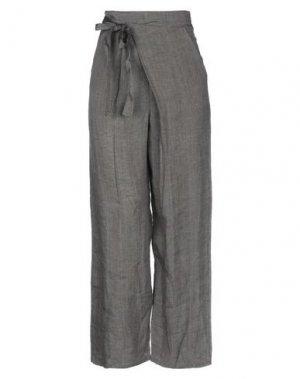 Повседневные брюки BIONEUMA NATURAL FASHION. Цвет: темно-коричневый