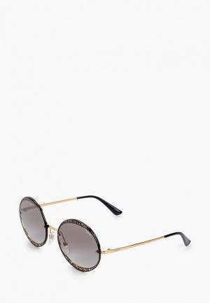 Очки солнцезащитные Vogue® Eyewear 0VO4118S 280/11. Цвет: золотой