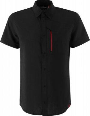 Рубашка с коротким рукавом мужская , размер 48 Northland. Цвет: черный
