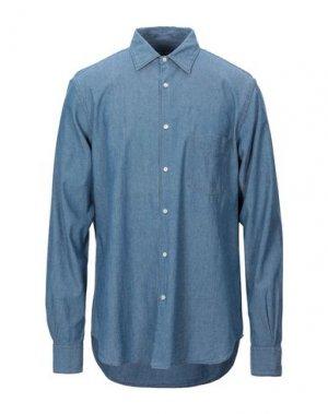 Pубашка ASPESI. Цвет: пастельно-синий