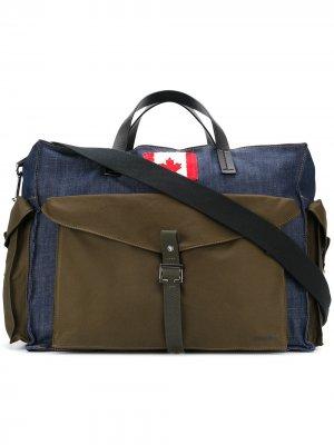 Дорожная сумка Canadian Dsquared2. Цвет: зеленый