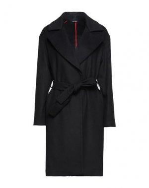 Пальто FEDERICA GARONI. Цвет: черный